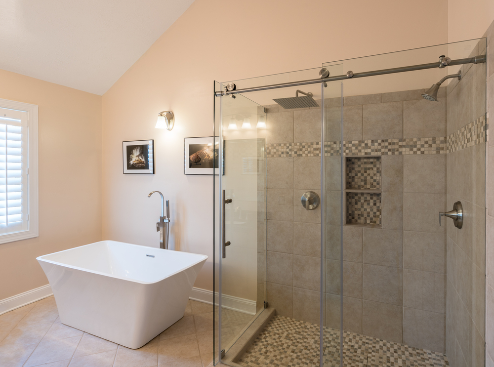 rubbed sliding oil home showers orb glass the depot shower frameless b bronze door n doors aston bath in bathroom alcove