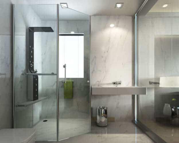 Upscale Shower Door